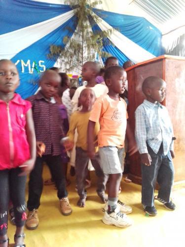 Children in Program Kenya