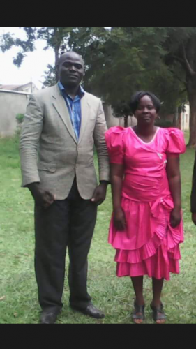 PASTOR PETER WANYONYI & WIFE