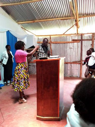 Preaching the Word in Kenya